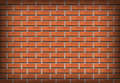 Brick wall with orange stones Stock Photography