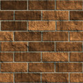 Brick wall ovenproof Stock Images