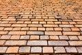 Brick wall perspective pattern