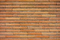 Brick wall photo of of a building Royalty Free Stock Photography