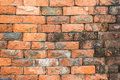 Brick wall photo of old background Stock Photography