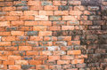 Brick wall photo of old background Royalty Free Stock Image