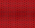 brick wall of red color or brick background