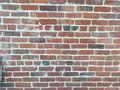 Brick wall red old Stock Images