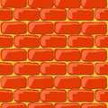 Brick Wall Seamless Stock Photo