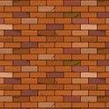 Brick wall seamless background