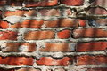 Brick Wall Shadows Royalty Free Stock Images