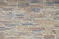 Brick wall stone and brown old Royalty Free Stock Image