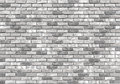 Brick wall texture or background, gray Royalty Free Stock Photo