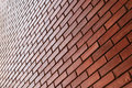 Brick wall texture background material of industry building Royalty Free Stock Photo