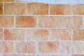 Brick wall texture close up view of decorative Stock Photography