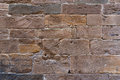 Brick wall texture grunge background with vignetted corners, may use to interior design Royalty Free Stock Photo