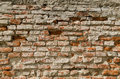 Brick wall texture old background Stock Photography