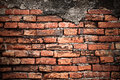 Brick wall texture old or background Royalty Free Stock Photos