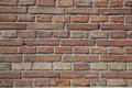 Brick wall texture of a photo Royalty Free Stock Photo