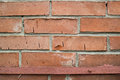 Brick wall texture red of the building Stock Photography