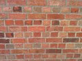 Brick wall at upper castle Royalty Free Stock Photography