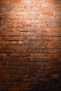Brick wall vertical background of old texture Royalty Free Stock Photo
