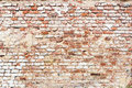 Brick wall with vintage look Royalty Free Stock Photo