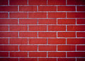 The brick walls red texture Stock Images