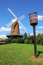 Brick windmill, Nottingham. Royalty Free Stock Photo