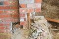 Brick Work Royalty Free Stock Photo