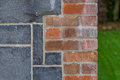 Brick work and stone work Royalty Free Stock Photo
