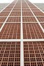 Brickbat wall Stock Photography
