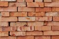 Bricks next building building materials warehouse background Royalty Free Stock Images