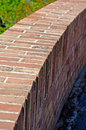 Bricks street wall made of background Stock Image