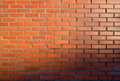 Bricks and sunset Royalty Free Stock Photos