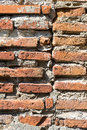 Bricks wall detail old in outdoor Royalty Free Stock Photos