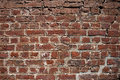 Bricks wall old reddish brickwall background or texture Stock Images