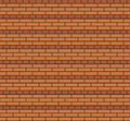 Brickwork of the american fence used in construction Royalty Free Stock Photo
