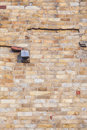 Brickwork at the Qutb Minar Tower in New Delhi Royalty Free Stock Photos