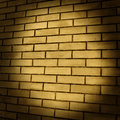 Brickwork walls of red brick vintage background Stock Photography