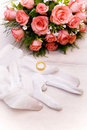 The bridal bouquet Royalty Free Stock Photos