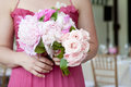 Bridal Bouquet of Flowers Stock Image
