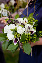 Bridal Bouquet of Flowers Royalty Free Stock Photos