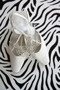 Bridal Shoes Stock Photo