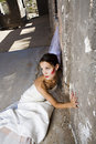 Bridal Trash The Dress Royalty Free Stock Photo
