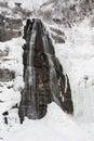 Bridal Veil Falls Provo Canyon Utah Stock Image