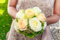 Bridal wedding flowers Stock Photos