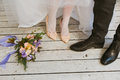 Bride and bridegroom Royalty Free Stock Photo
