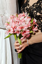 Bride flowers Royalty Free Stock Photo