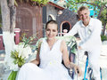 Bride and groom Royalty Free Stock Photos