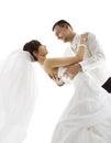 Bride And Groom In Dance, Wedd...