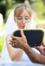 Bride make up Royalty Free Stock Photo