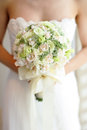 Bride's Bouquet Royalty Free Stock Photos