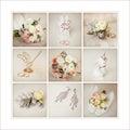 Bride`s wedding accessories Royalty Free Stock Photo